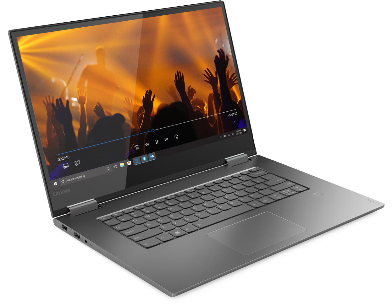 Lenovo at CES 2019: Yoga C730 Gets AMOLED Display