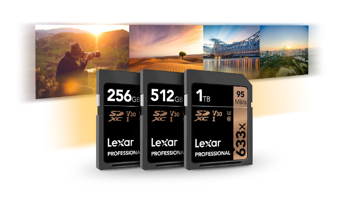 Lexar at CES 2019: 1 TB SDXC UHD-I Memory Card Announced