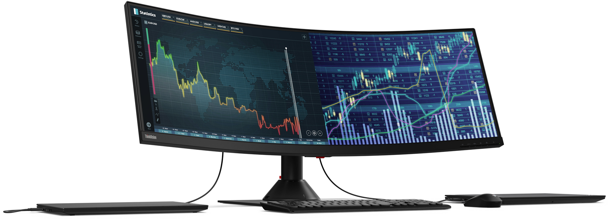 Lenovo at CES 2019: 43 4-Inch Curved Monitors for Gaming and