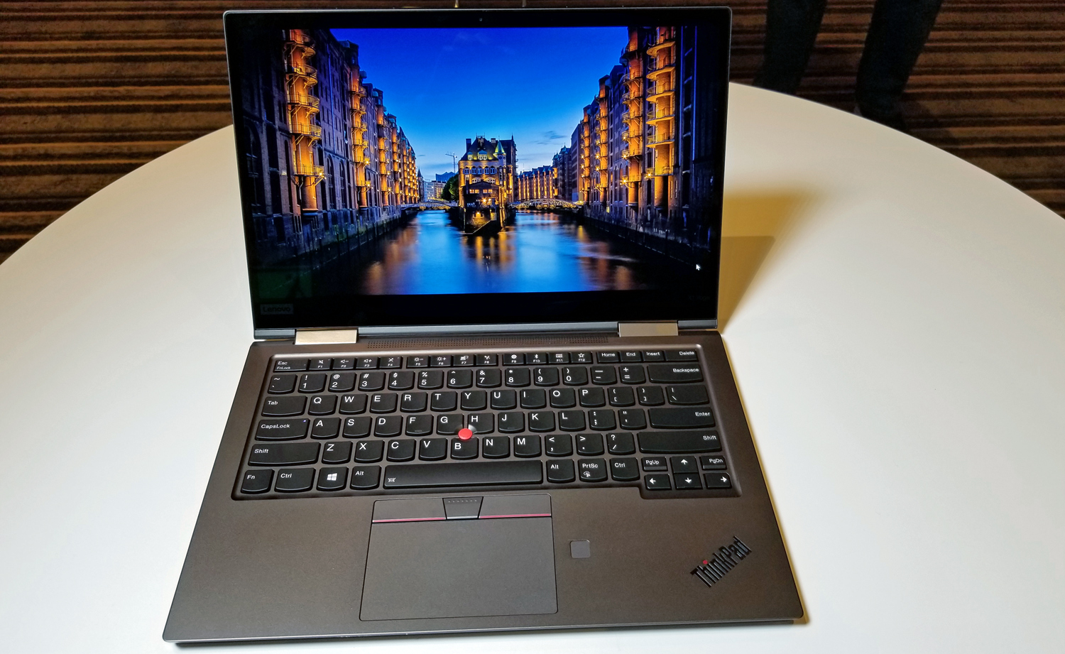Lenovo at CES 2019: ThinkPad X1 Yoga Gets Thinner Aluminum