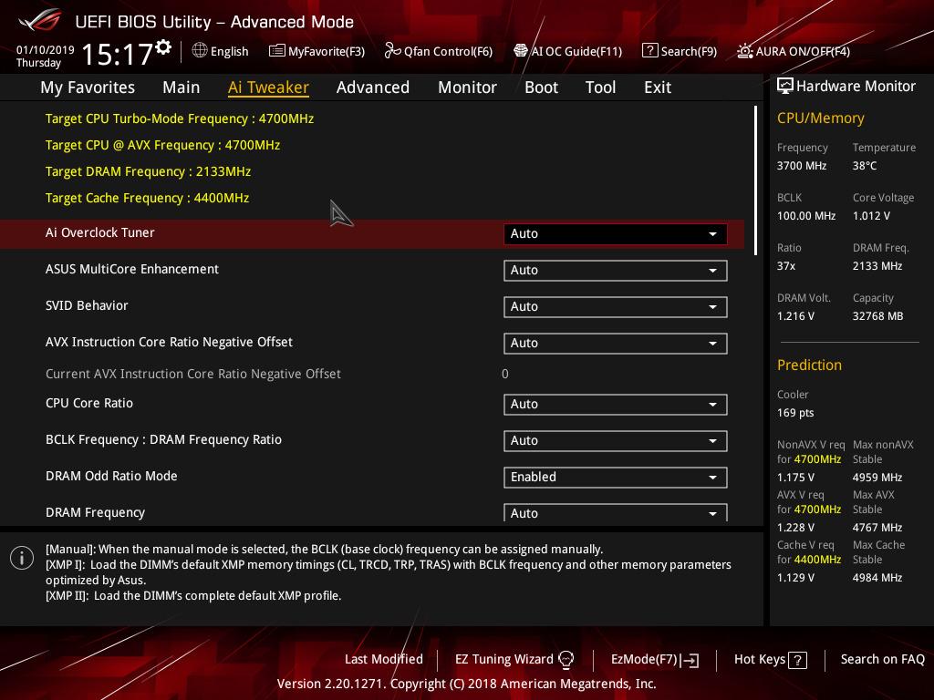 ASUS ROG Z390 BIOS and Software - Tiny at $200: ASUS Z390-I Gaming