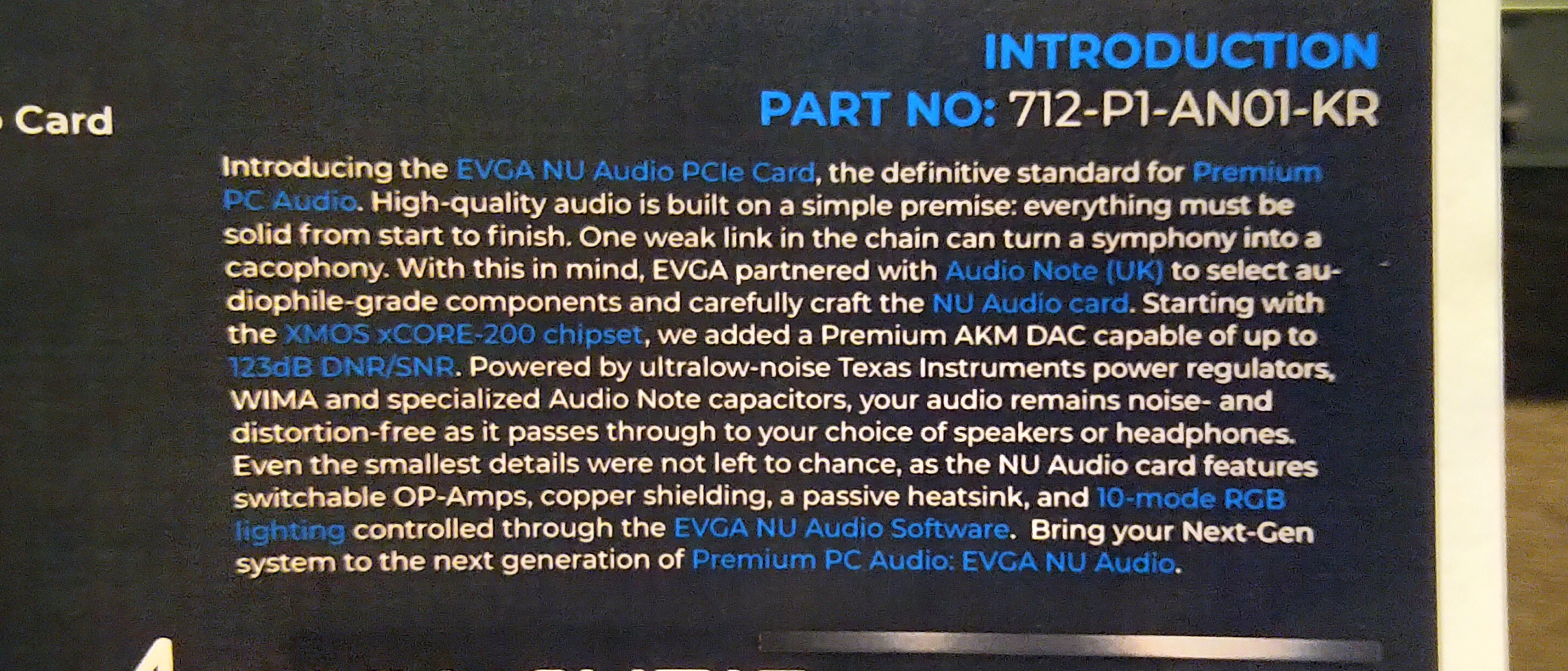 EVGA Launches Its First Audio Card, the Nu Audio
