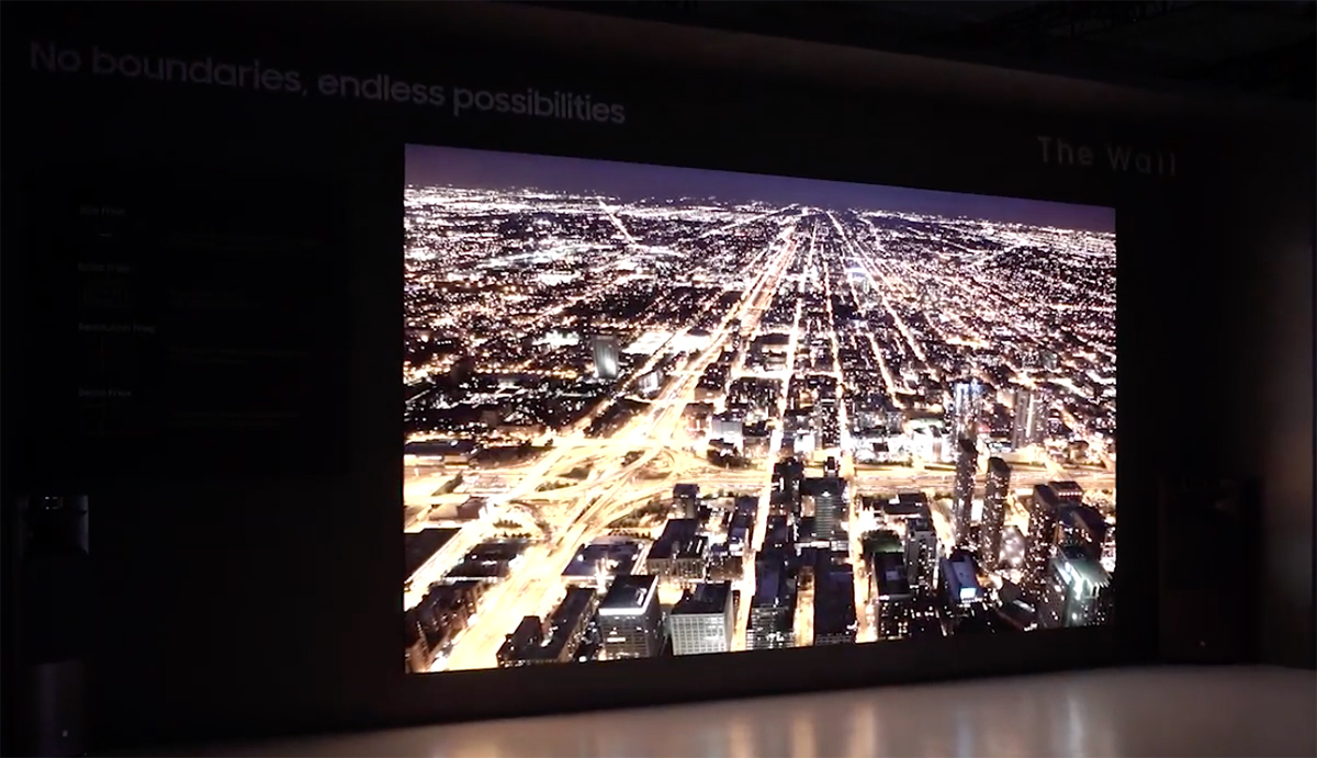 Samsung at CES 2019: 219-Inch and 75-Inch Micro LED Ultra-HD TVs  Demonstrated