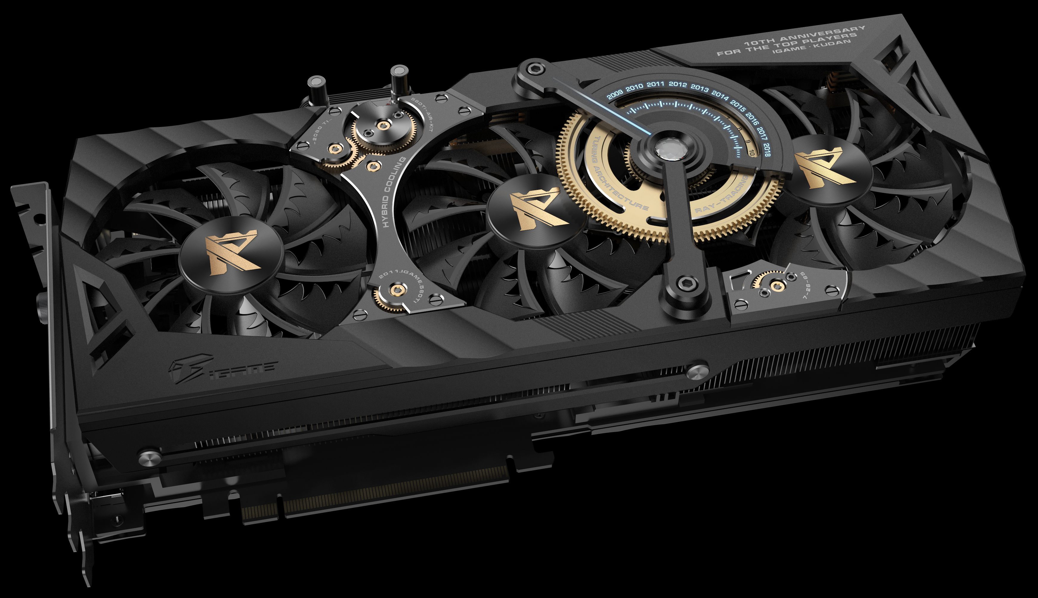 CES 2019: Colorful iGame GeForce RTX 2080 Ti Kudan at 1 8
