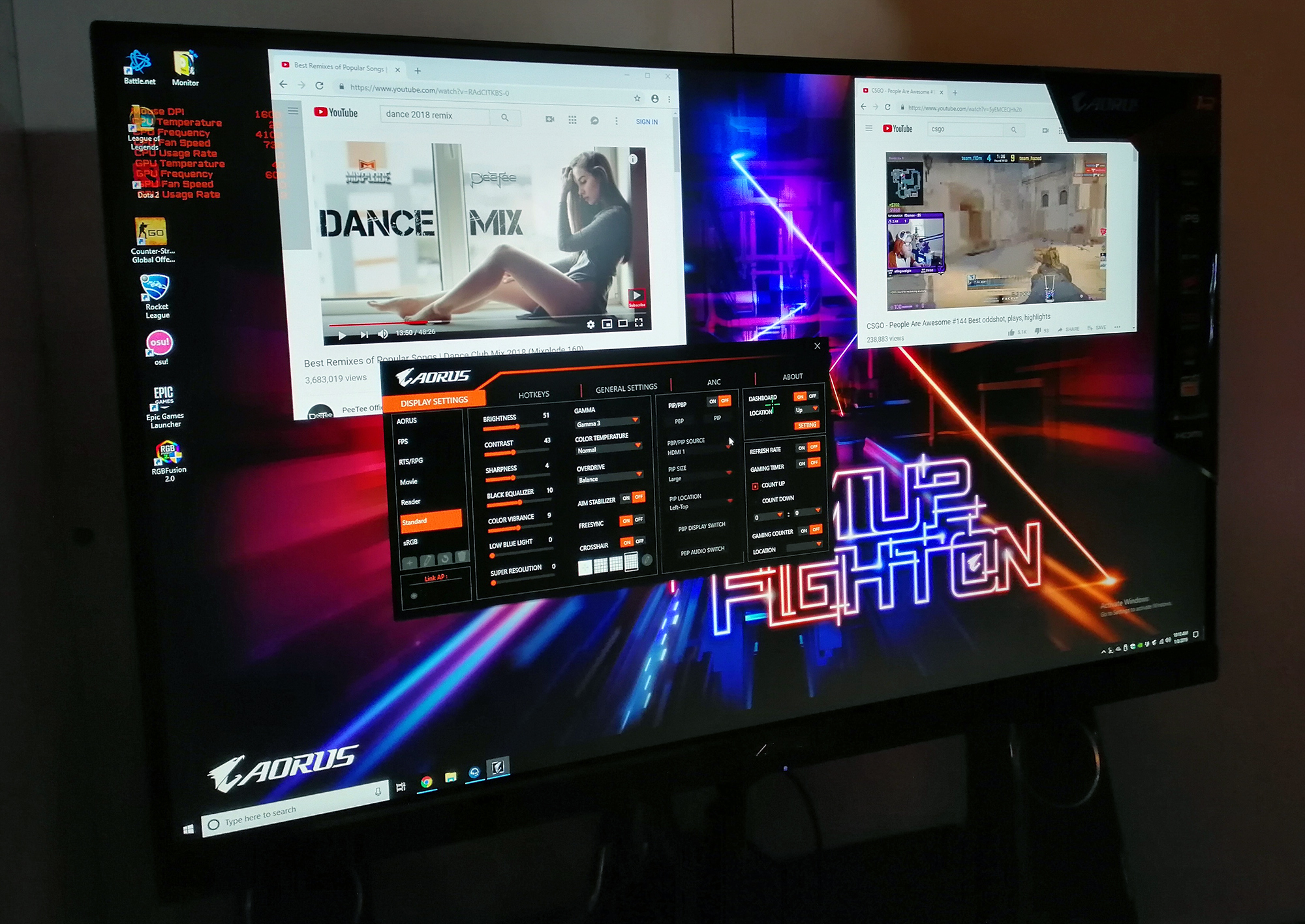 1440P 144Hz Monitor ces 2019: a monitor from gigabyte? the 1440p 144 hz ips