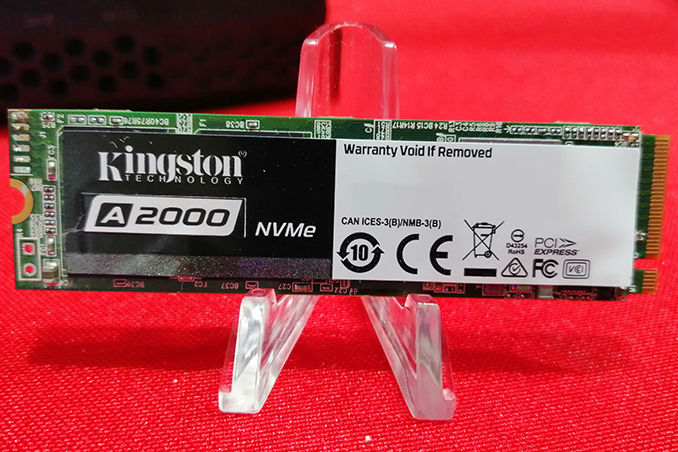 Ces 2019 Kingston A2000 Nvme Ssd Aiming For Below Sata Pricing