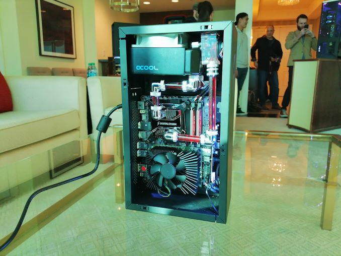 CES 2019: Digital Storm Spark, a 'Mini-ITX' with MXM RTX 2080