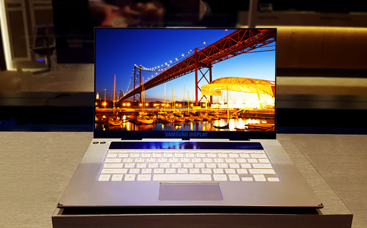 Samsung Unveils 15 6-Inch Ultra-HD OLED Display for Laptops