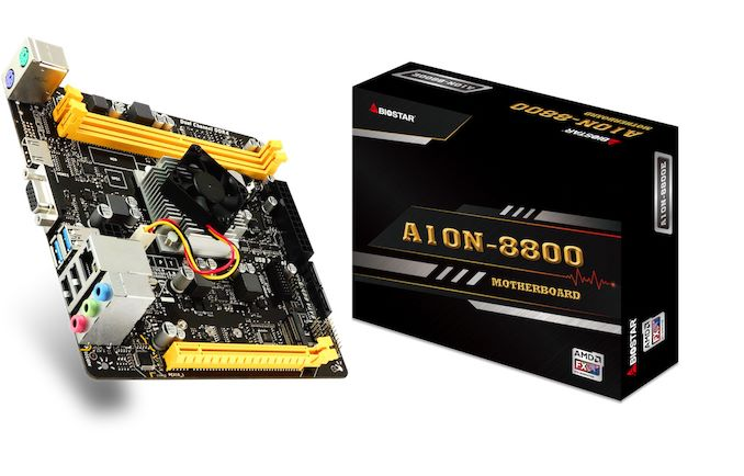 BIOSTAR Goes Carrizo: A10N-8800E Mini-ITX Motherboard with Integrated FX-8800P