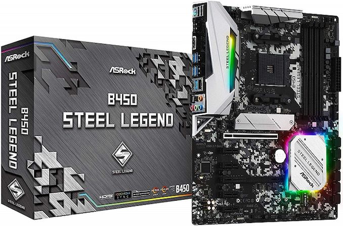 ASRock Unveils B450 Steel Legend Series: Shiny and Chrome for ATX