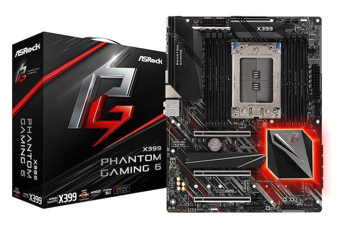 Gaming Performance - The ASRock X399 Phantom Gaming 6 Motherboard