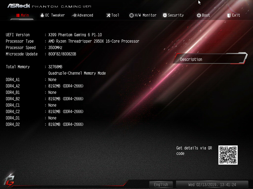 BIOS And Software - The ASRock X399 Phantom Gaming 6 Motherboard