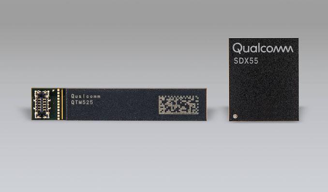 Qualcomm Announces X55 Modem: 5G Multi-mode & New Advanced ICs