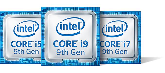 Image result for Intel 9th Gen Core i9, Core i7, Core i5