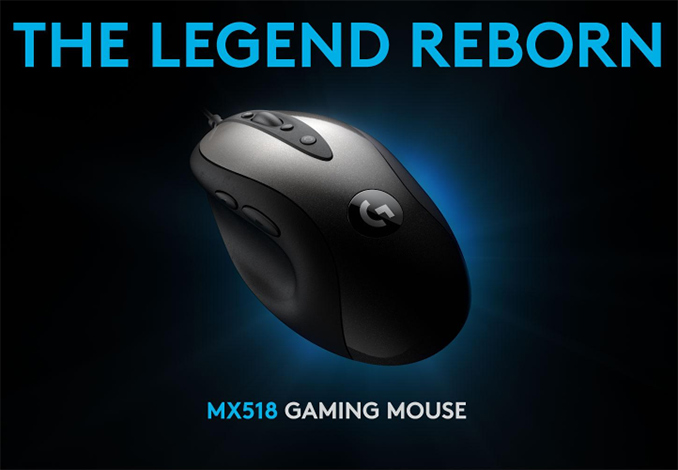 Logitech Re-Launches 'Legendary' MX518 Mouse with 16,000 DPI