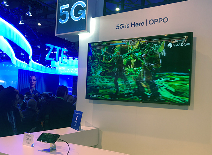Oppo Demonstrates 5G Smartphone at MWC 2019
