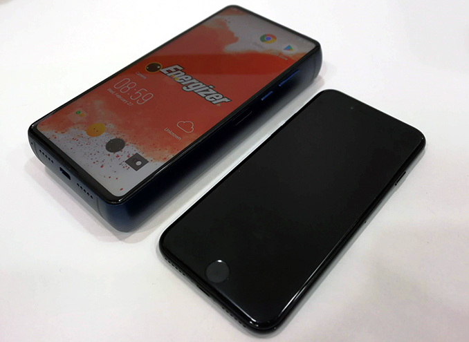 Energizer Power Max P18K Pop With 18000 MAh Battery Demonstrated At