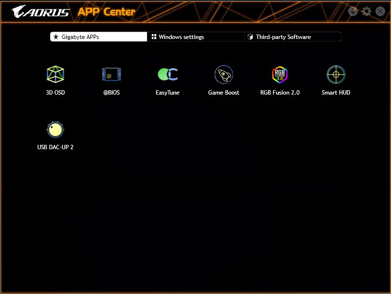 BIOS And Software - The GIGABYTE Z390 Aorus Master