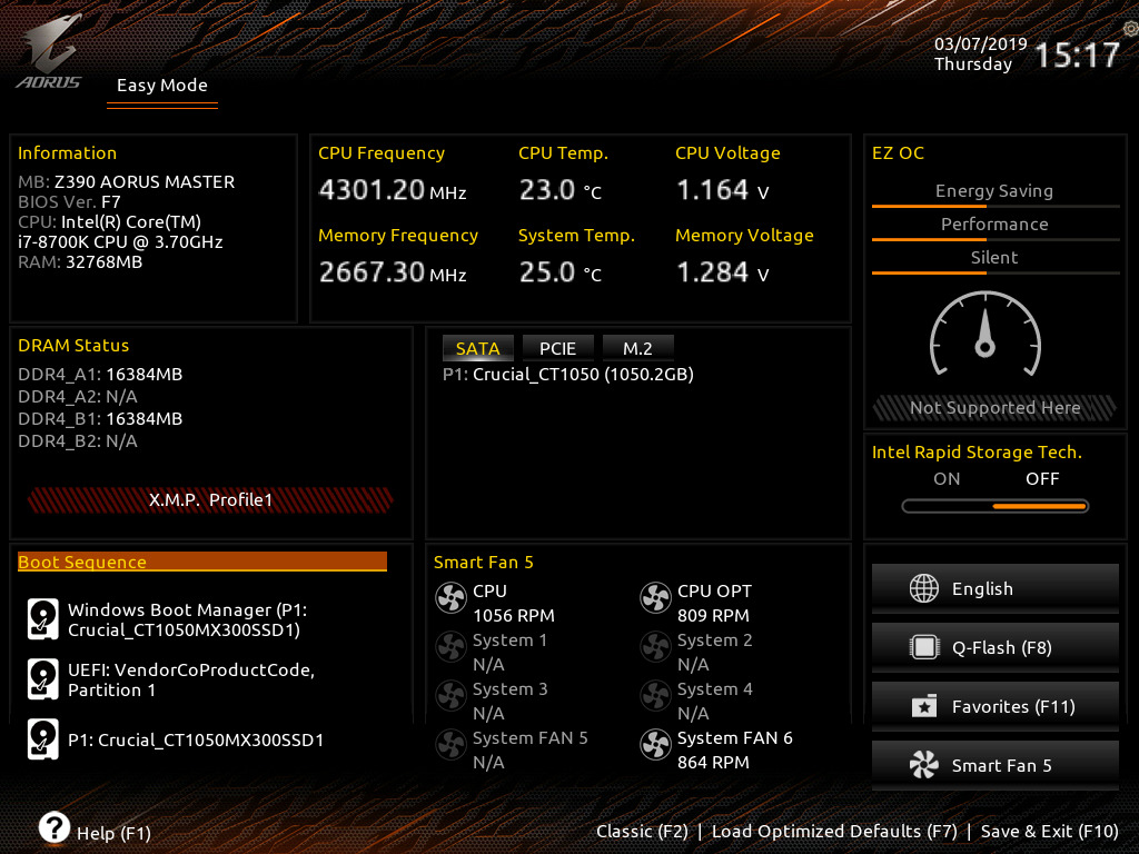 BIOS And Software - The GIGABYTE Z390 Aorus Master Motherboard