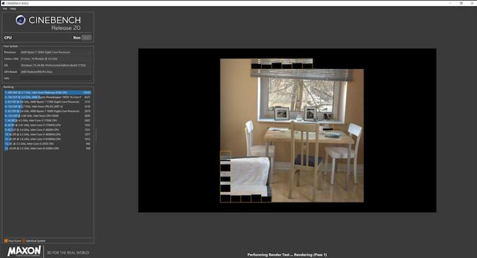 Maxon Releases Cinebench R20 Benchmark