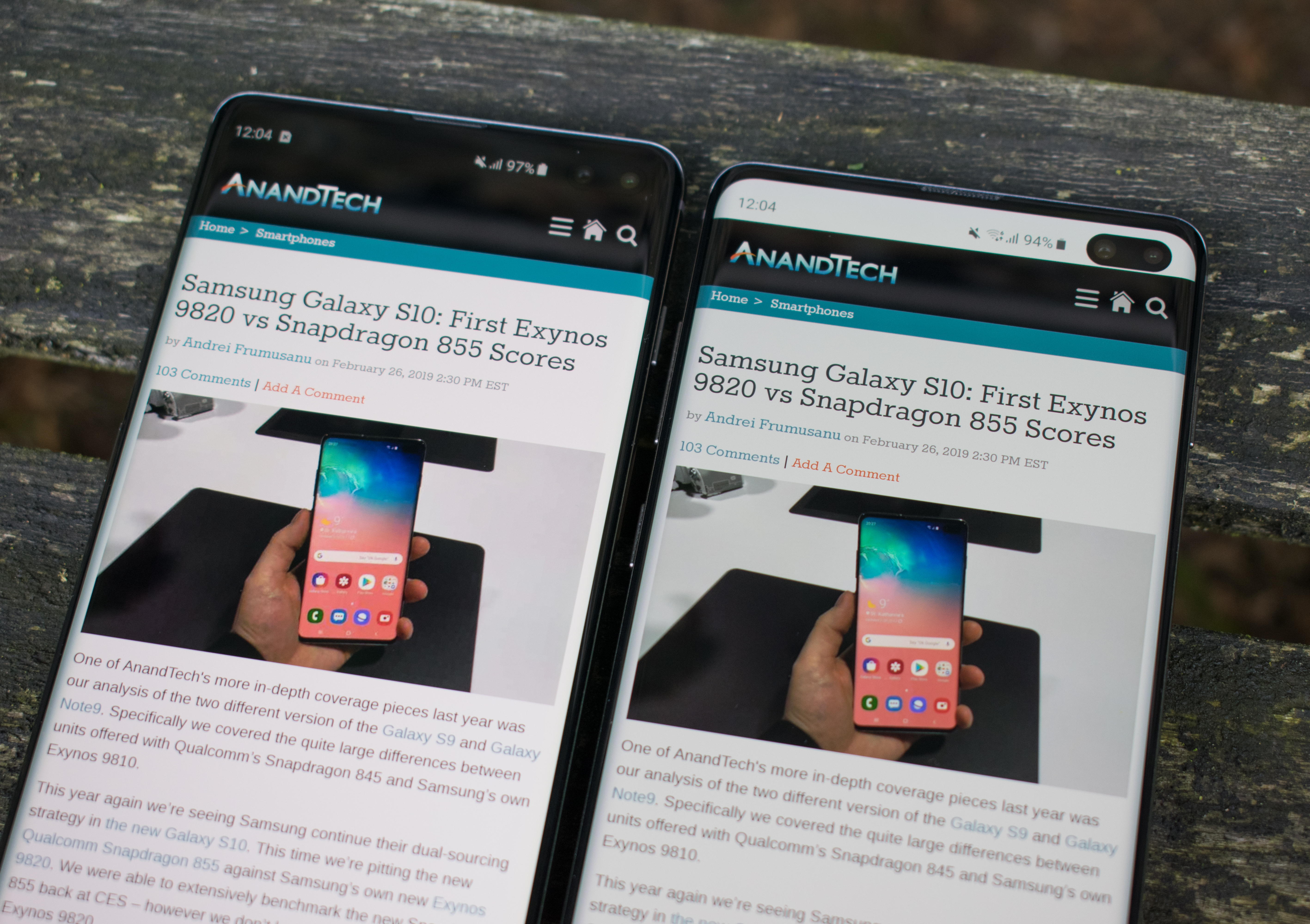 Design & Ergonomics - The Samsung Galaxy S10+ Snapdragon