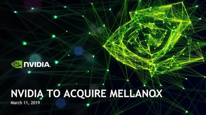 Nvidia set to acquire Mellanox Technologies for $6.9 billion