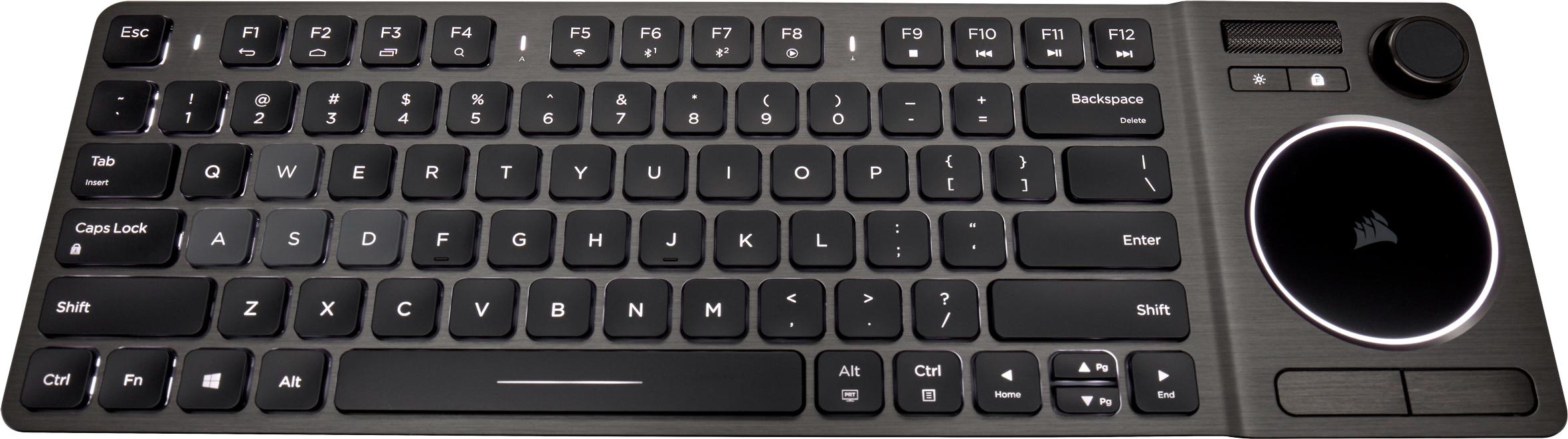Corsair Announces K83 Wireless Entertainment Keyboard for