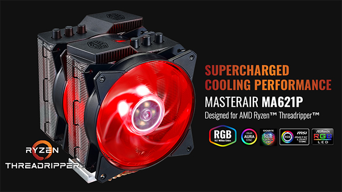 The MasterAir MA621P TR4: CM's Triple Fan Tower Cooler for