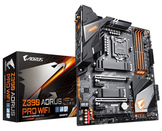 The GIGABYTE Z390 Aorus Pro WIFI Motherboard Review: A