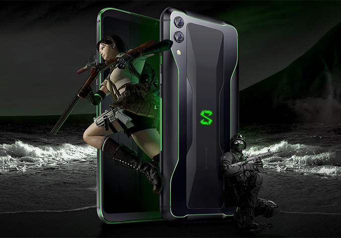 Xiaomi Black Shark 2 Gaming Phone: Snapdragon 855, 12 GB RAM, 240 Hz Polling