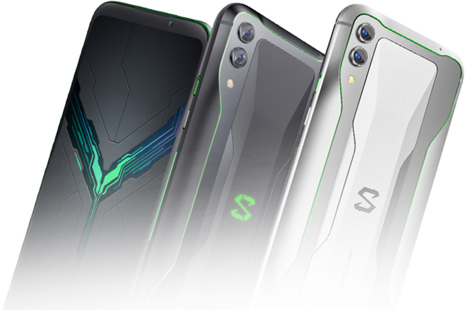 Xiaomi Black Shark 2 Gaming Phone: Snapdragon 855, 12 GB RAM, 240 Hz