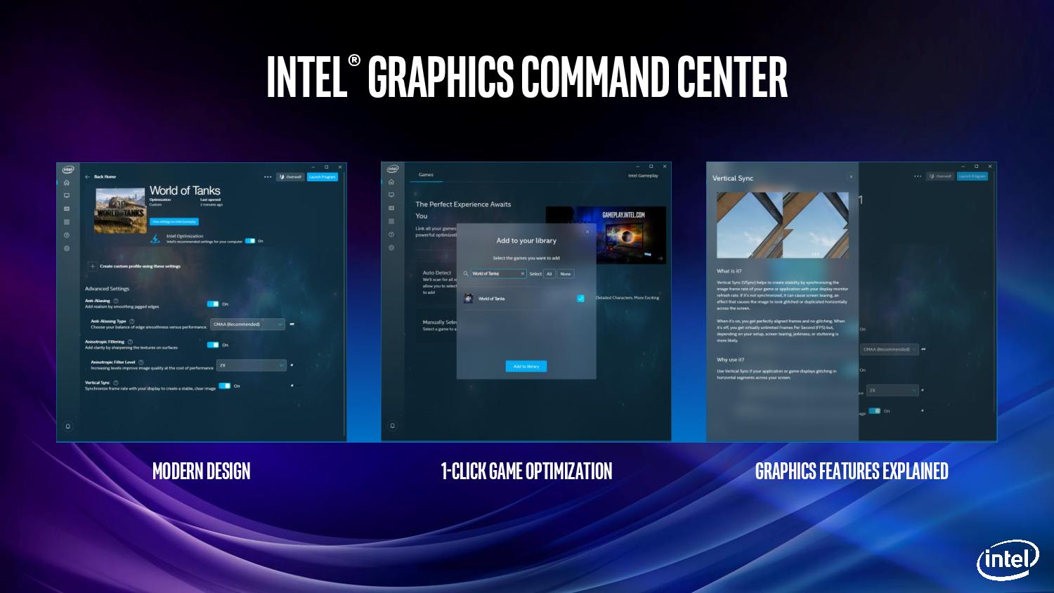 Intel Releases New Graphics Control Panel: The Intel