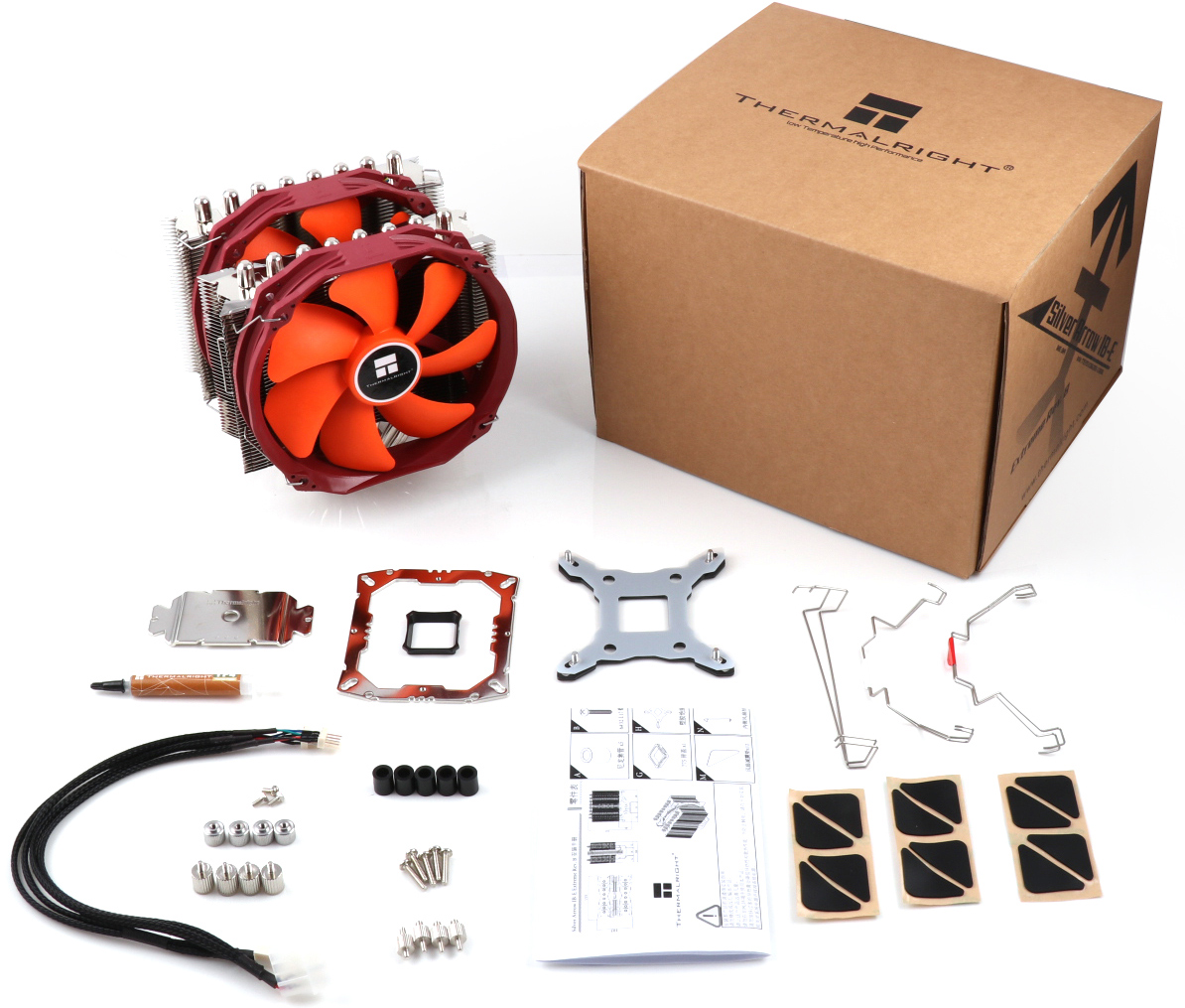 Thermalright Silver Arrow IB-E Extreme Rev  B: An Air Cooler