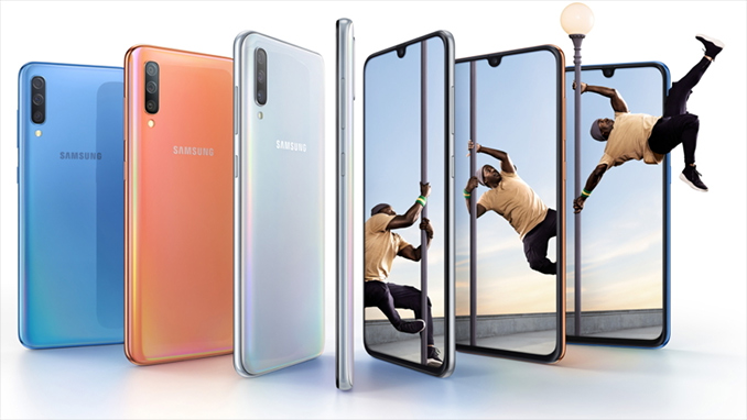 Samsung Unveils The Galaxy A70: A Mid-Range Smartphone With a