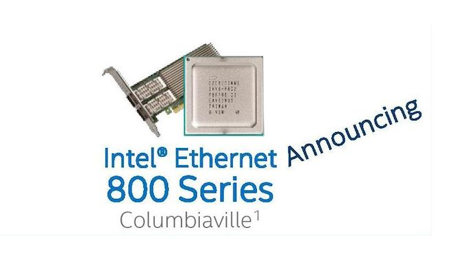 Intel Columbiaville: 800 Series Ethernet at 100G, with ADQ
