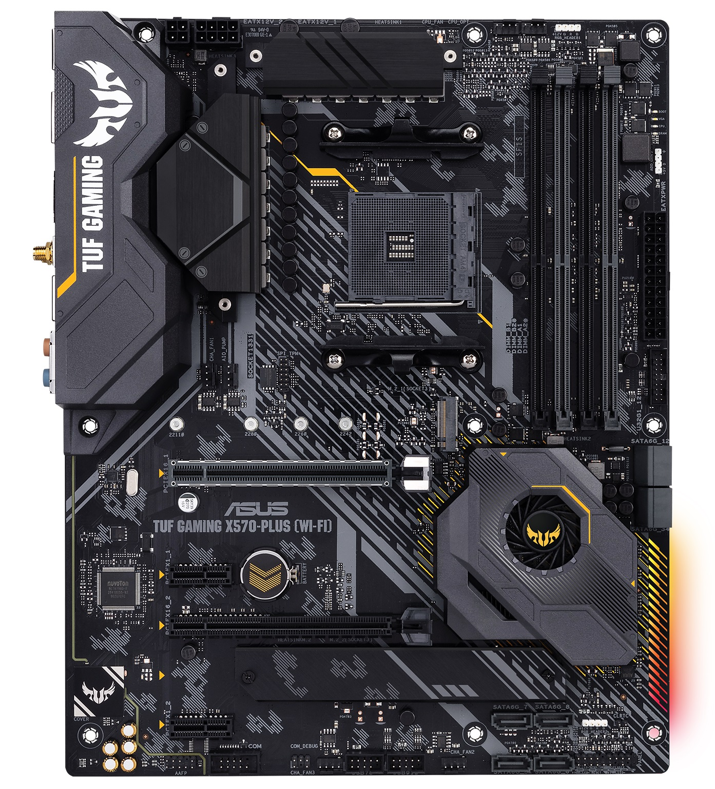 ASUS TUF Gaming X570-Plus & X570-Plus WIFI - The AMD X570
