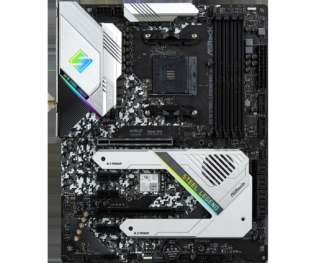 ASRock X570 Steel Legend - The AMD X570 Motherboard Overview