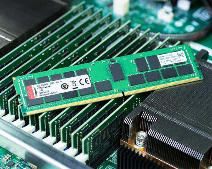 Kingston Reveals DDR4-2933 Registered DIMMs for Cascade Lake-SP
