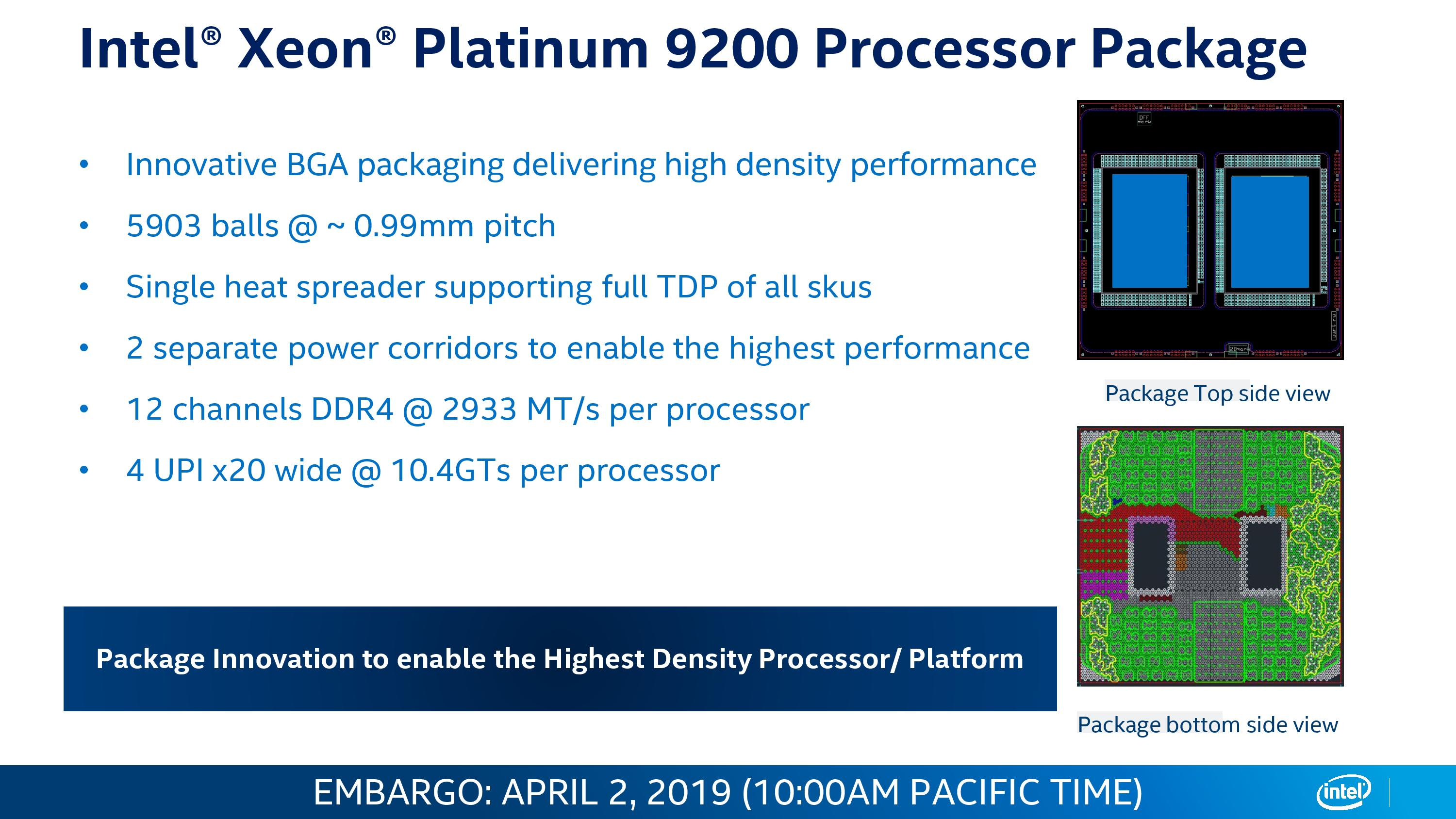 Hands on with the 56-core Xeon Platinum 9200 CPU: Intel's