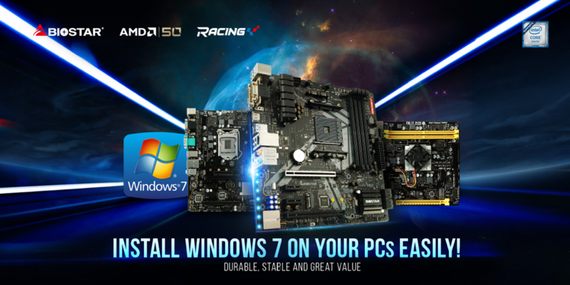 BIOSTAR Adds Windows 7 Support To Some Intel and AMD Motherboards