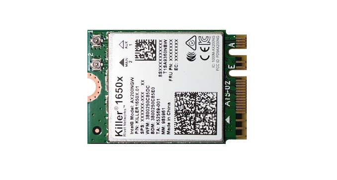 The Killer AX1650: A Wi-Fi 6 Chip Built on Intel