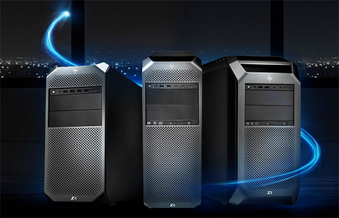 HP's Cascade Lake Z6 & Z8 Xeon Scalable Workstations with Up to 6 TB