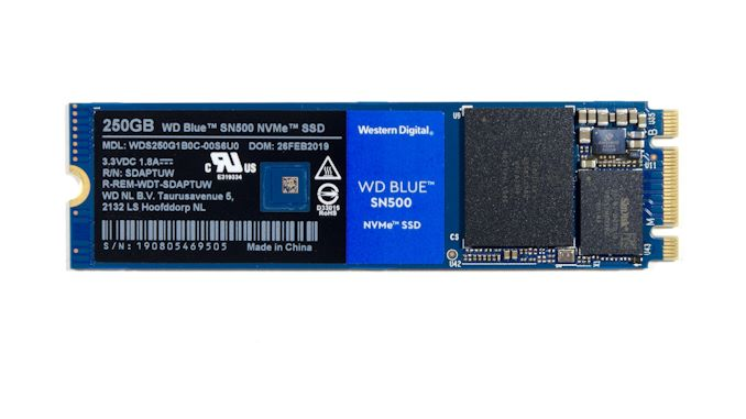 The Western Digital WD Blue SN500 SSD Review: Moving
