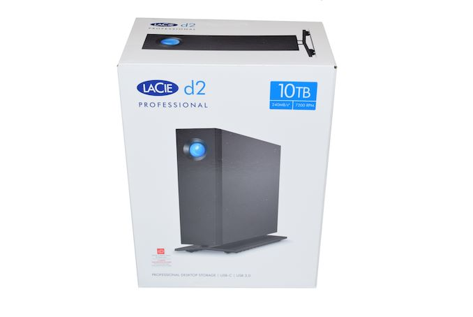 LaCie d2 Professional 10TB Direct-Attached Storage Capsule