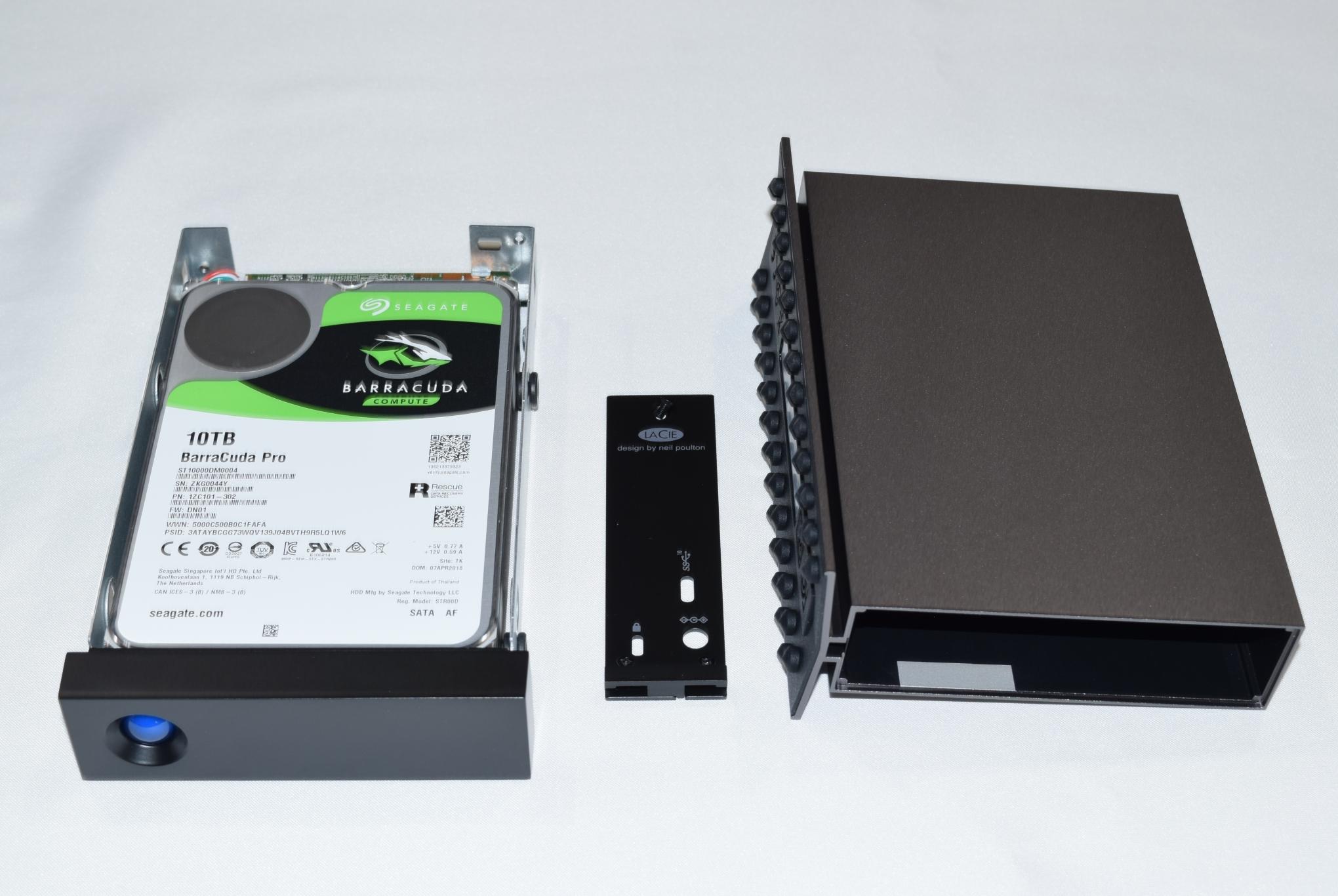 LaCie d2 Professional 10TB Direct-Attached Storage Capsule