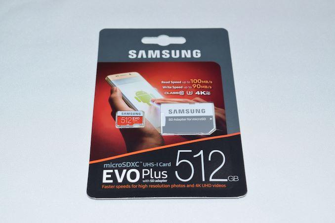 Samsung Evo Plus Microsdxc Uhs I 512gb Memory Card Capsule Review