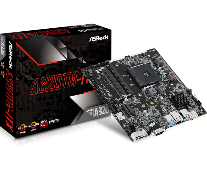 The ASRock A320TM-ITX Motherboard: Thin-ITX For AMD APUs
