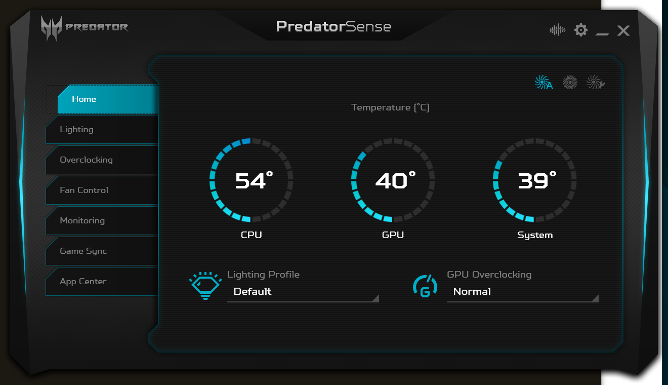 Wireless, Audio, Thermals, and Software - The Acer Predator