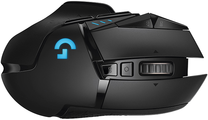 3ce3a8e26fe Dubbed the Logitech G502 Lightspeed, the new wireless gaming mouse uses the  company's latest Hero 16K sensor, ...