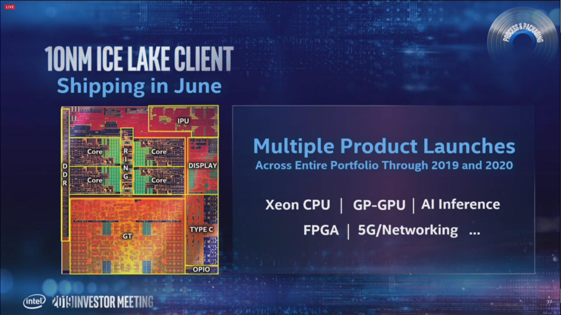 Intel to launch 7nm chip products in 2021